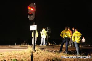 Foto Taxichauffeur komt om het leven bij botsing trein