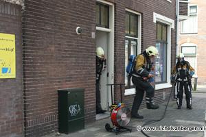 Foto Binnenbrand Kinderdagverblijf Myrthe Haarlem