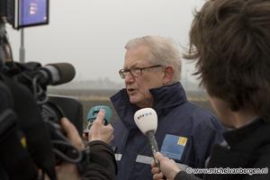 foto's Vliegtuig stort neer bij Schiphol