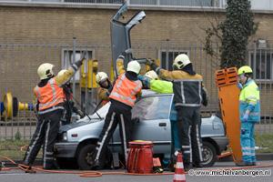 Foto's ongeval Amsterdamsevaart Haarlem
