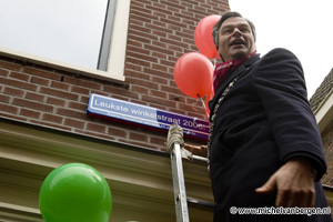 Foto Kleine Houtstraat, de leukste winkelstraat van Nederland