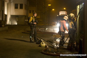 Foto Binnenbrand aan de Kuppersweg