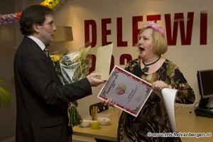 Foto Angeline Broers gekozen tot Delftwijker 2008