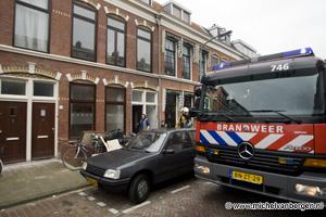 Foto Illegale afvalverbranding in Saenredamstraat