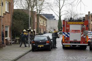 Foto Twintig woningen ontruimd Hof van Egmond in Haarlem Oost