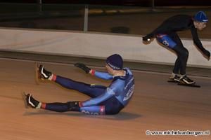 Foto: Michel van Bergen - Richard Louman wint Kampioenschap van Haarlem op ijsbaan