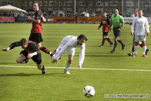 Foto's FC Utrecht tegen HFC EDO benefietwedstrijd