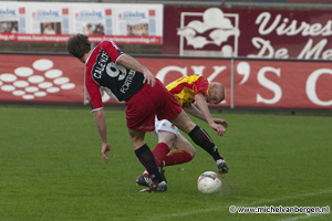 Foto Go Ahead Eagles met 2-1 te sterk voor HFC Haarlem
