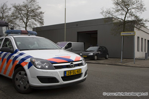 Foto Brandweer stuit op hennepkwekerij bij binnenbrand Conradweg in Haarlem