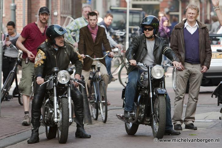 Bennie En Gijs Jolink In De Zijlstraat In Haarlem Voor Reclame Commercial Michel Van Bergen Punt Nl