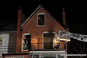 Foto Computer veroorzaakt binnenbrand in woning