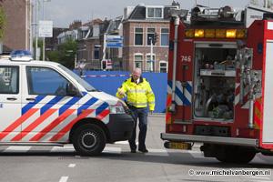 Foto Vrachtwagen rijdt persoon met rolator dood op de Kleverlaan