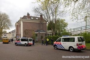 Foto Krakers moeten pand Ripperdastraat in Haarlem verlaten