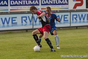 Foto HFC Haarlem verliest punten tegen laatste thuiswedstrijd