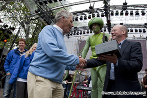 Foto Kunstijsbaan Haarlem winnaar van de Groene Mug