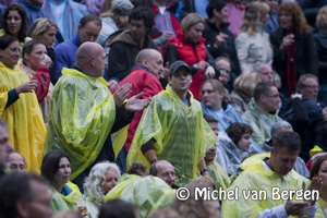 Foto optreden De Dijk in openluchttheather Caprera Bloemendaal