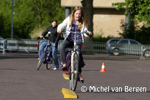 Foto ANWB Streetwise dag voor Koningin Emmaschool