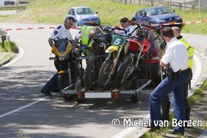 Foto Autoverkeer sluis enige tijd afgesloten na ongeval Noordersluisweg