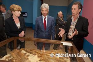 Foto Opening Minister Ronald Plasterk Teylers Museum Haarlem