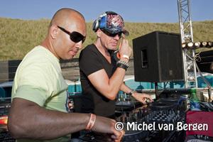 Foto's Pinkster Beach Festival beachclub Vroeger