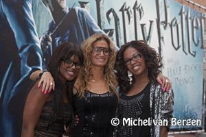 Foto's Vele BN-ners bij de Harry Potter and the Half-Blood Prince première in Haarlem