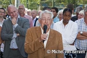 Foto Zonnige officiële opening DSK complex Haarlem Oost