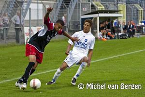 Foto HFC Haarlem verliest met 1-2 van AGOVV  Apeldoorn