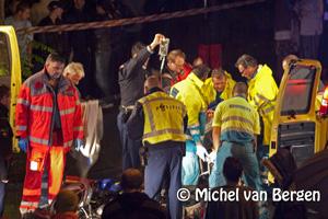 Foto Bromfietser zeer ernstig gewond na aanrijding kruispunt Stresemannlaan met de Montessoristraat Haarlem