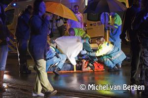 Foto Jongen ernstig gewond geraakt bij ongeval van der Vondellaan Driehuis