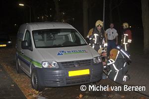 Foto Schalkwijk zondagavond geteisterd door diverse brandstichtingen