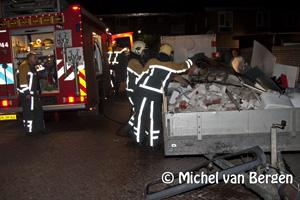 Foto Wederom veel brandstichtingen in Schalkwijk en Haarlem-Oost