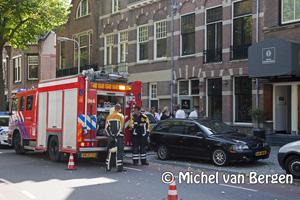 Foto Brand bij werkzaamheden Hotel Bloemendaal / Cafe De Rusthoek Bloemendaal