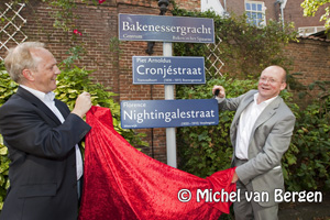 Foto Gemeente Haarlem krijgt nieuwe straatnaambordjes