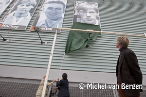 Foto Ruud Wielart nieuwste sportheld op het Kennemer Sportcenter