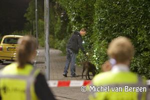 Foto Persoon neergestoken aan de Piratenweg in Hoofddorp