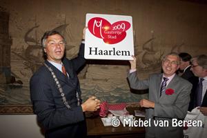 Foto Haarlem meest gastvrije stad van 2009