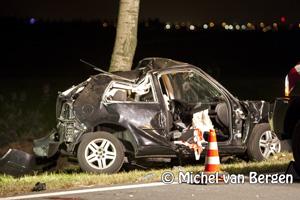 Foto Twee personen overleden, derde zwaargewond bij ongeval N201 weg om de noord Hoofddorp