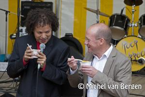 Foto Allemaal verschillende soorten soep tijdens de Dag van de Soep