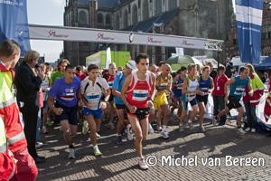 Foto 25e editie Zilveren Kruis Achmea Loop in Haarlem groot succes