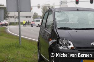 Foto Fietser (51) overleden na aanrijding met auto Van Heuven Goedhartlaan / Kruisweg in Hoofddorp
