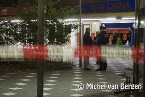 Foto Gewonde na steekpartij op Prinses Beatrixplein in Haarlem