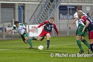 Foto HFC Haarlem verliest met 0-1 van Excelsior