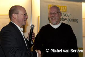 Foto Uitreiking Groene Mug in stadhuis Haarlem