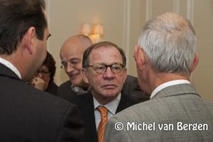 Foto Ambtsbezoek commissaris Borghouts aan de gemeente Bloemendaal