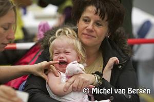 Foto Massale opkomst griepvaccinatie in Nederland