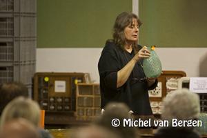 Foto Dure vaas A.D. Copier niet verkocht bij veiling Schalm Haarlem