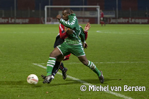 Foto HFC Haarlem verliest in de slotfase van FC Zwolle (1-2)