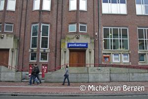 Foto Postkantoor Gedempte Oude Gracht Haarlem nu definitief gesloten