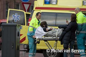 Foto Zwarte Piet gecrasht en afgevoerd naar ziekenhuis!