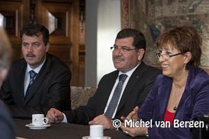 Foto Delegatie Emirdag op bezoek in Haarlem